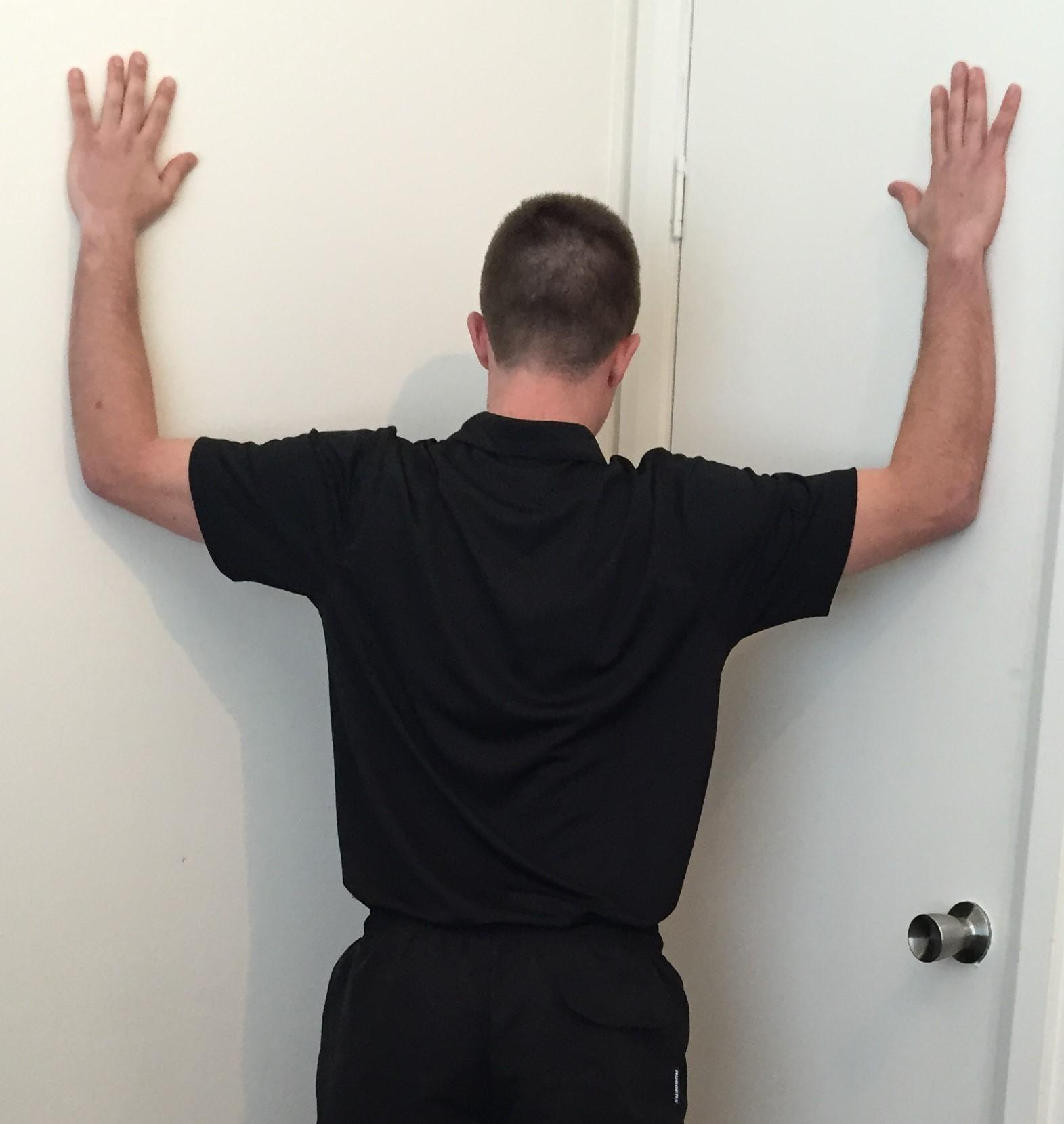 Pectoralis Minor | Psoas Massage + Bodywork Clinic | San ...  |Pectoralis Major Stretch